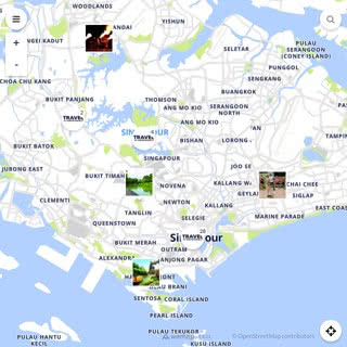 Discovery map - Our selection of must-see places in and around Singapore