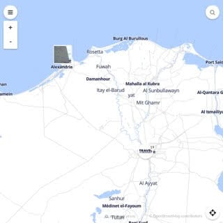 Discovery map - Our selection of must-see places in and around Cairo