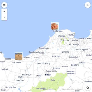 Discovery map - Our selection of must-see places in and around Algiers