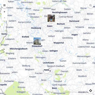 Discovery map - Our selection of must-see places in Cologne and Bonn