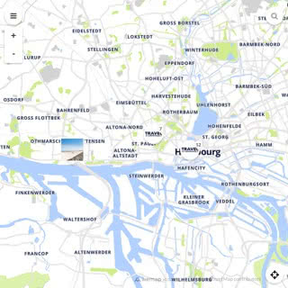 Discovery map - Our selection of must-see places in and around Hamburg