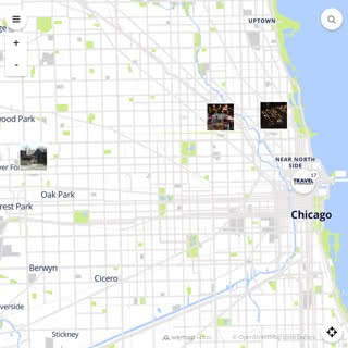 Discovery map - Our selection of must-see places in and around Chicago