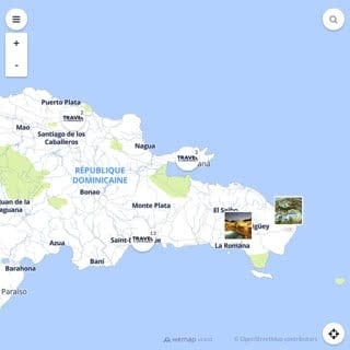 Discovery map - Our selection of must-see places in and around Santo Domingo