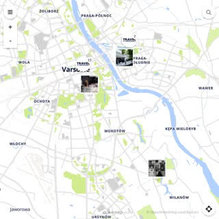 Discovery map - Our selection of must-see places in and around Warsaw