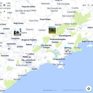 Discovery map - Our selection of must-see places in and around Sao Paulo