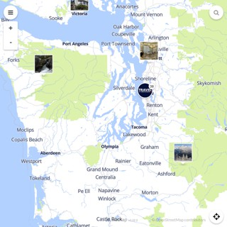 Discovery map - Our selection of must-see places in and around Seattle
