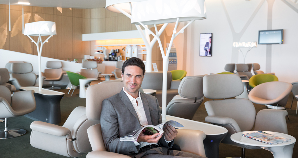 Air france lounges at the airport conditions for for Salons de paris